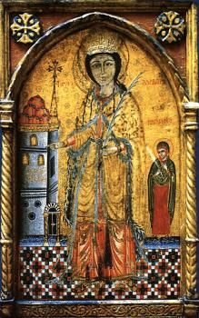 The Holy Great Martyr Barbara + December 4 | Antiochian Orthodox Christian Archdiocese