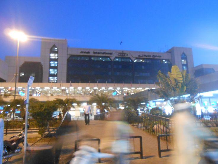 Jinnah terminal .... dawn ... by Ali Shaikh
