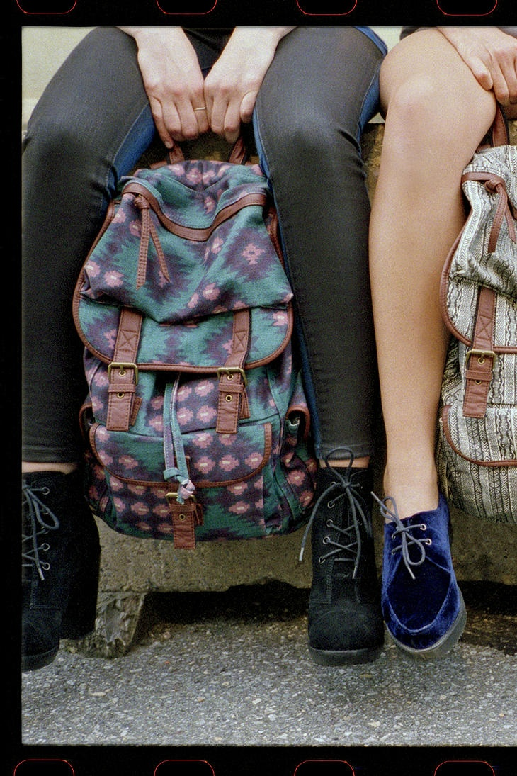 Love the backpack. #urbanoutfitters