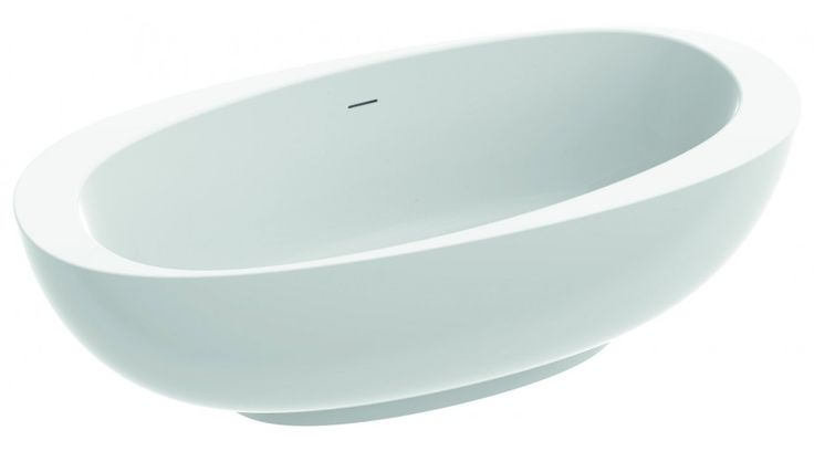 AMOS - Exkluzív, szabadon álló kád  #marmorin #exclusive #bathtube #bathroom #bath #design #freedom #beauty #white #minimal #style #idea