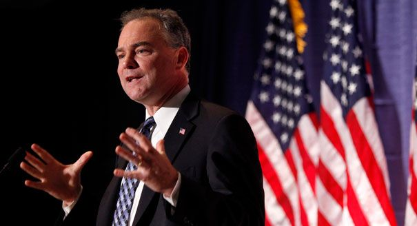 Sen. Kaine: Obama Needs Authorization: 'That's What the Framers of the Constitution Intended' | CNS News