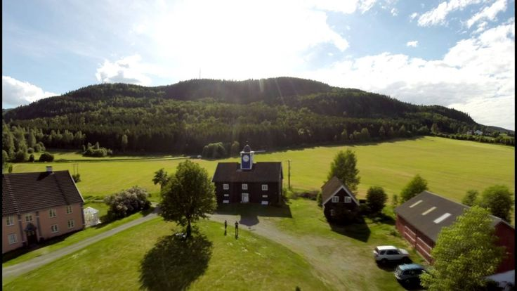 Lillehammer by air - DigiKo drone