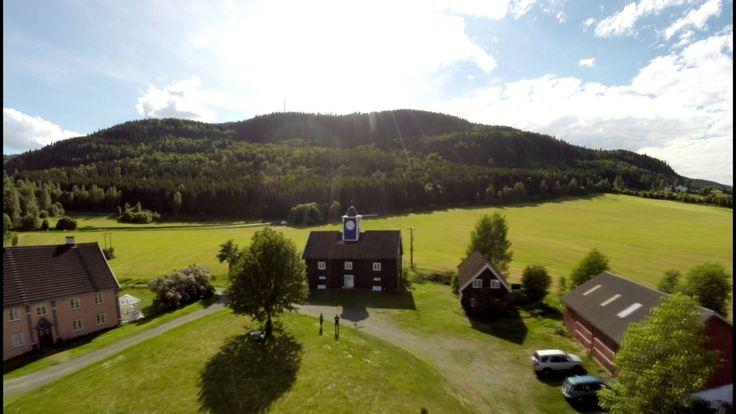 Lillehammer by air - DigiKo drone
