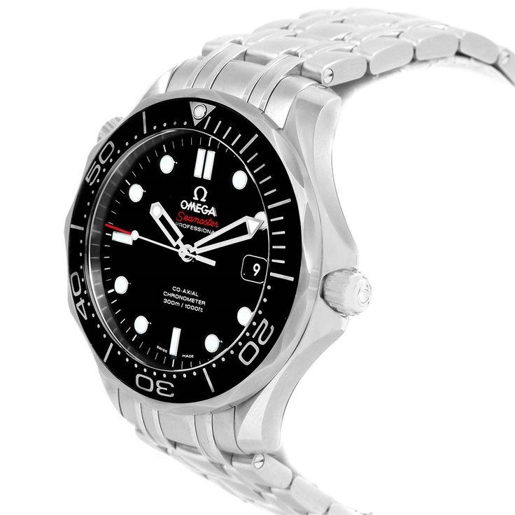 16013 Omega Seamaster Automatic Steel Mens Watch 212.30.41.20.01.003 Box Card SwissWatchExpo
