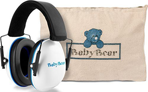 Safest Baby Ear Protection ~ Baby Ear Muffs Noise Protection ~ Infant Ear Protection Rated Safer than other Toddler Ear Protection, Baby Ear Plugs, and Child Noise Cancelling Headphones  ♥ JOIN THE MOVEMENT - As moms, we believe that every baby deserves to be happy, safe and loved. Your luxury baby ear muffs purchase helps reduce infant and child mortality rates worldwide through the Save the Children Federation.  ♥ PREMIUM CARRYING BAG - With your new baby earmuffs, you will receive a...