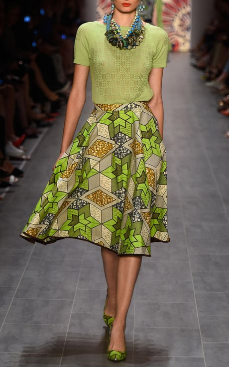 Zaire Skirt by Lena Hoschek for Preorder on Moda Operandi
