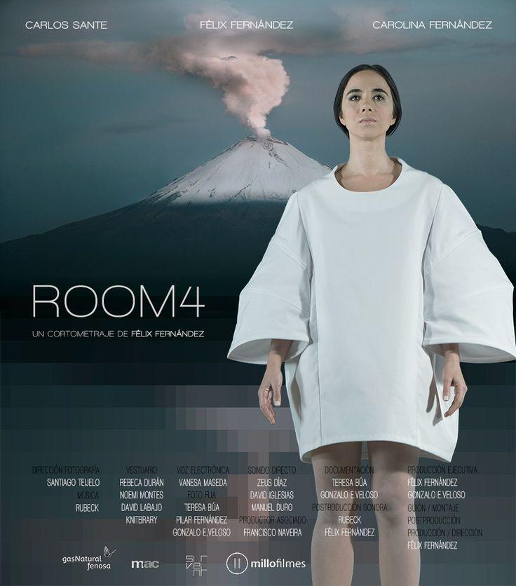 Billboard of ROOM4 (my new short film) www.felixfernandez.org