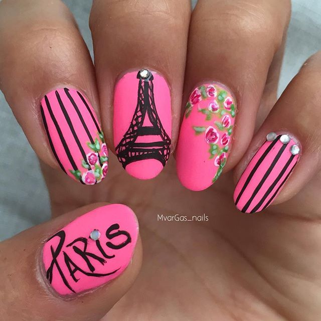 Instagram media mvargas_nails - Paris  #nail #nails #nailart