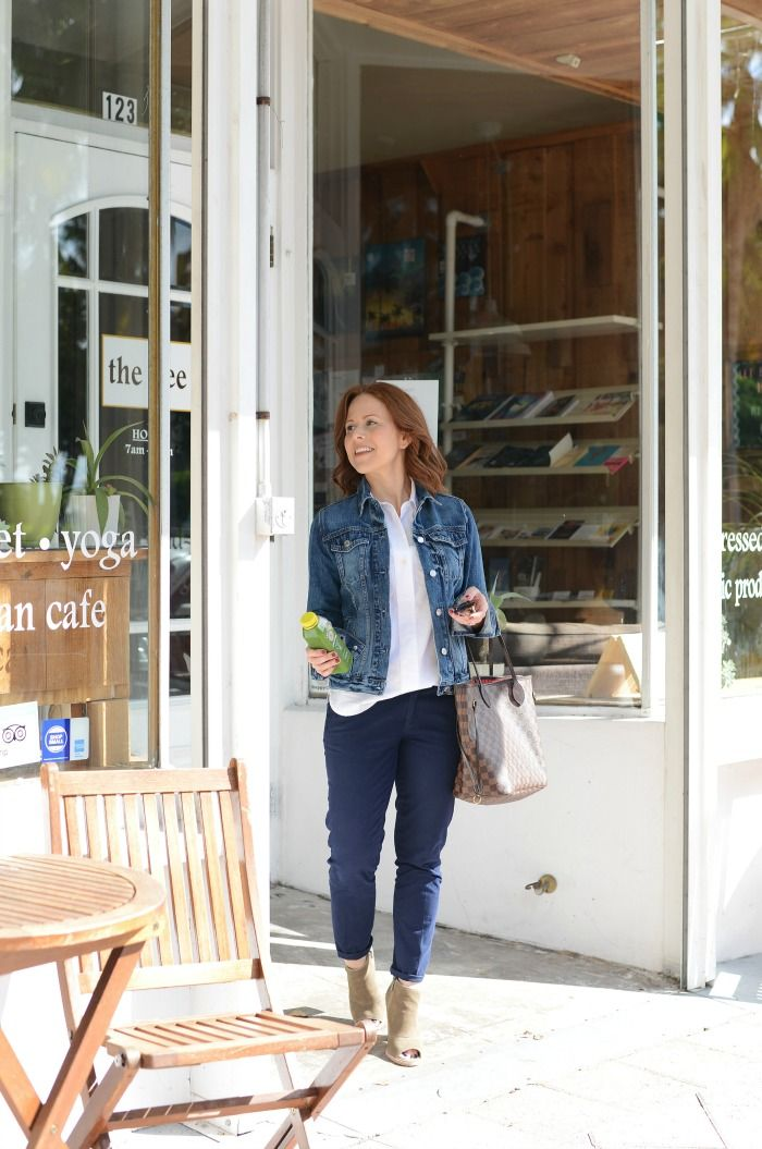 Outfit: Working the Denim Jacket | THE MODERN SAVVY