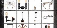 #Симферополь #Продам: Стильные дизайнерские светильники  Вашему вниманию представлен широкий ассортимент светильников на любой вкус: в стиле лофт, изысканные классические светильники, неожиданные современные светильники, разнообразные лампы, большой выбор светильников для отдельных помещений и зон (светильники для ванной, кухонные светильники, детские светильники, уличные светильники)Какой бы стиль вы ни выбрали, прованс или классика, лофт или модерн, у нас  найдется подходящая модель…