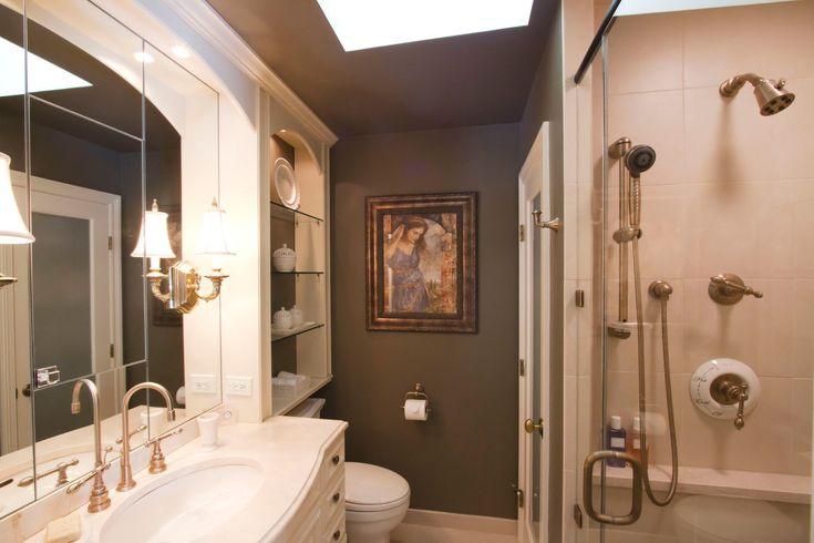 Ideen für Master-Badezimmer: 6 Master-Badezimmer gestaltet kleine Räume …   – meli