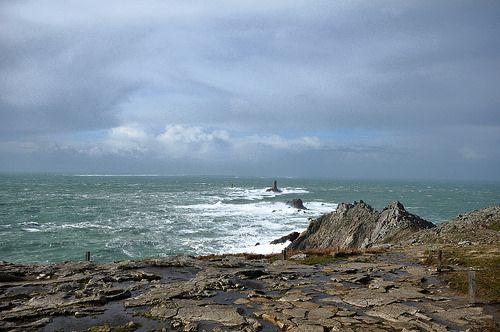 Pointe du Raz et phare de la Vieille