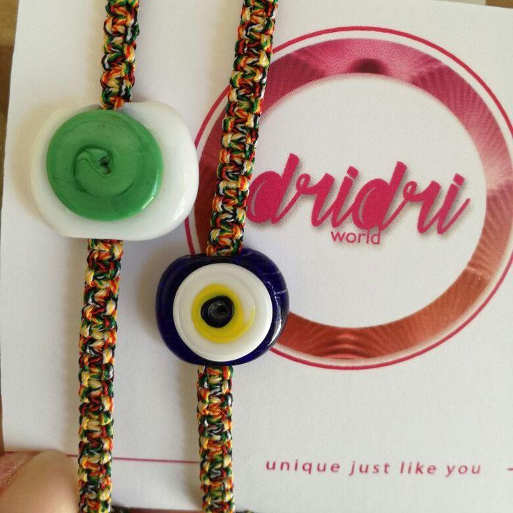 Custom made bracelet for a couple of travelers!