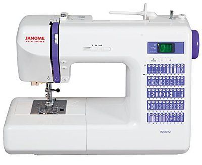 Рriсе - $735.79. Sewing Machines Janome DC2014 Computerized Sewing Machine With Accessories ( Brand - Janome, MPN - DC2014BONUSCOMBO, UPC - 720189698217, Category - Sewing Machines, EAN - 0720189698217    )