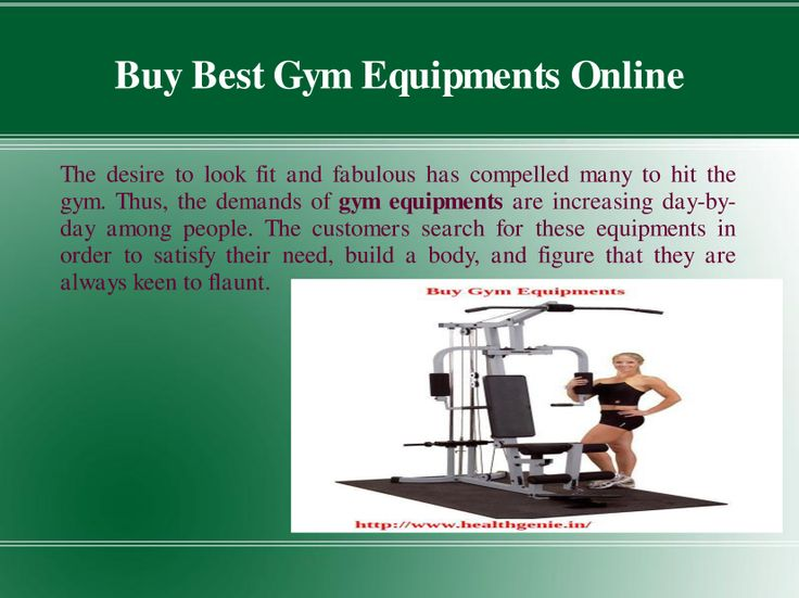 The desire to look fit and fabulous has compelled many to hit the gym. Thus, the demands of #gym #equipments are increasing day-by-day among people. The customers search for these equipments in order to satisfy their need, build body, and figure that they are always keen to flaunt.