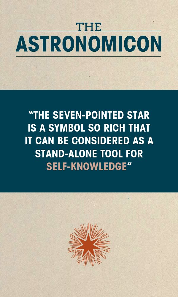 """""""So the first thing we can say about the seven-pointed star is that—from the astrological perspective—it is the esoteric foundation of the weekly cycle, that we can also call the Wheel of the Week."""" #astrology #planets #selfknowledge #spirituality"""