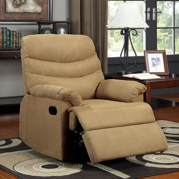Dalton Mocha Brown Microfiber Recliner Chair : oakwood microfiber recliner - islam-shia.org
