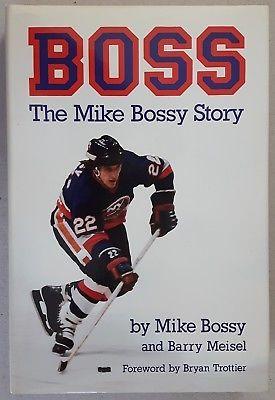Boss...The Mike Bossy Story by Mike Bossy 1988 HC/DJ Hockey NHL