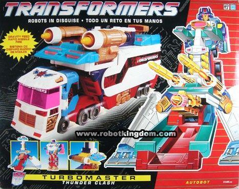 hasbro transformers g1 autobot turbomaster thunder clash vintage #transformer