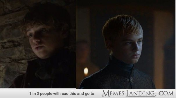 Game of Thrones. Martyn Lannister Becomes Tommen Baratheon
