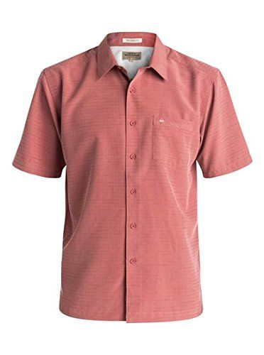 Quiksilver Waterman Men's Centinela 4 Woven Top, Canyon, Small