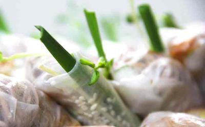 Buckwheat Rice Rolls