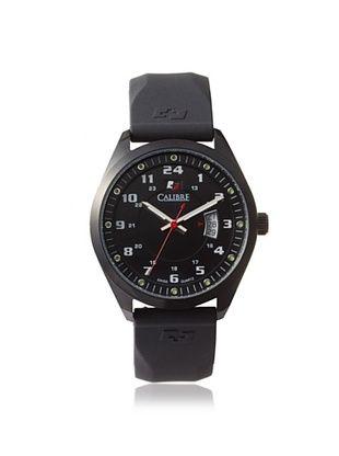 68% OFF Calibre Men's 4T1-13-007R Trooper Black Rubber Watch