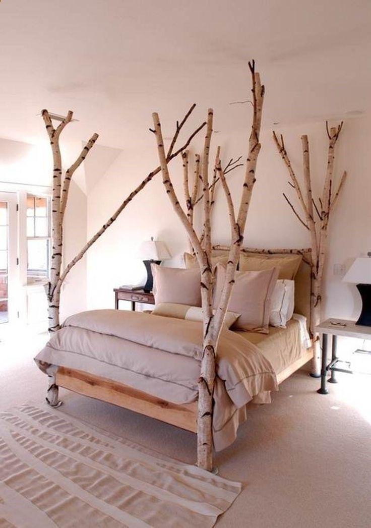 amazing redecorating bedroom ideas birch treebed #decor #interiors