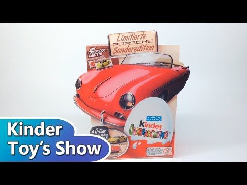 Киндер Сюрприз Порше 356 Speedster, ограниченное издание (Porsche limited edition, Kinder Surprise) - 16.08.2014