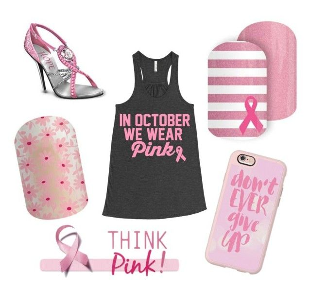 Think Pink - Go Pink by dazzlewithjams on Polyvore featuring polyvore Casetify fashion style clothing