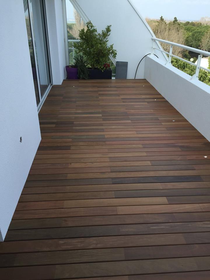 Terrasse En Bois Sur Plot : terrasse, Terrasse, Visserie, Cachée, Plancha, Exterieur,