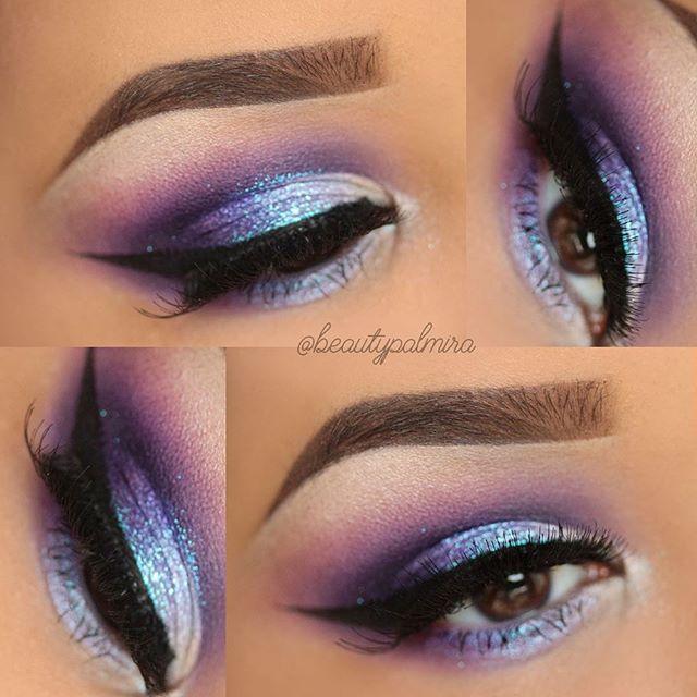 Eyeshadow: @sugarpill Burning Heart Palette, @sleekmakeup Celestial ...