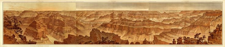 The aptly named Point Sublime, on the north rim of the Grand Canyon, offers one of the most breathtaking views of this natural wonder. The U.S. Geological Survey commissioned artists William Henry Holmes and Thomas Moran to create illustrations for Tertiary History of the Grand Cañon, to convey to readers the stunning visual impact of the geological formations. Geography and Map Division, Library of Congress