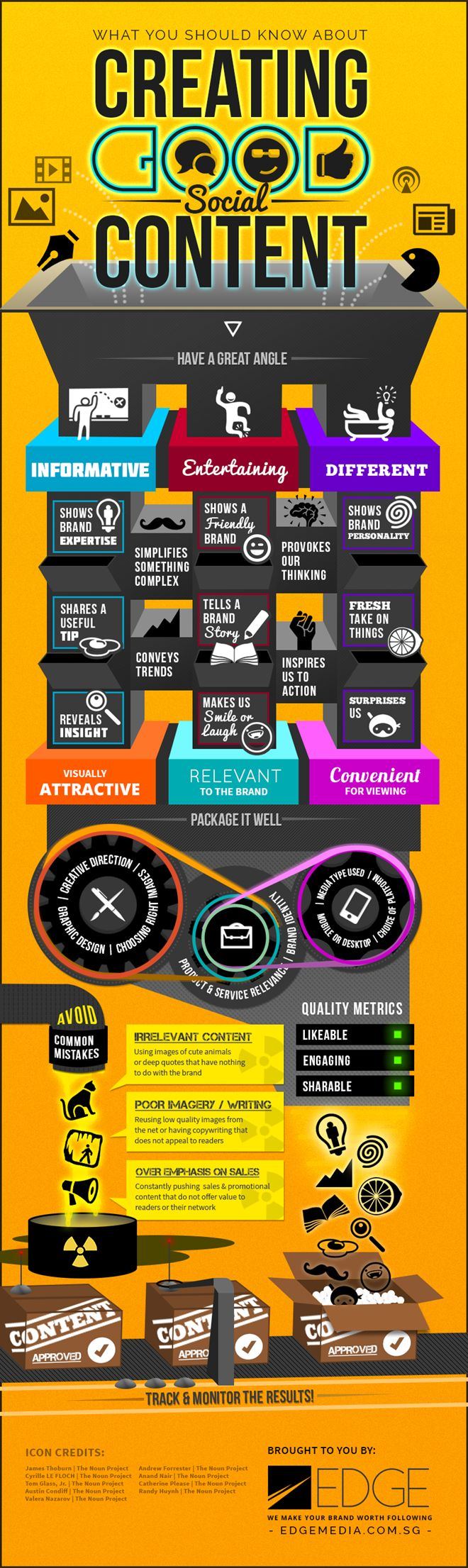 Tips for bloggers, YouTubers and social media enthusiasts. An infographic by Edge Media.