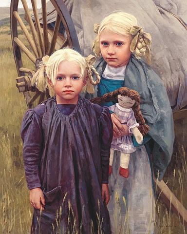 Leon Parson. Prairie Angels- he was my art professor! Amazing artist!!!