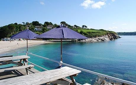 The Three Mackerel, Falmouth, Cornwall from The Telegraph UK seaside: 10 best cafés by the beach