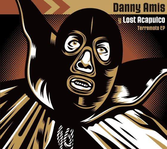 Dr. Alderete 2004 Danny Amis y Lost Acapulco - Terremoto EP [Mostri Ssimo 821759111522] #albumcover