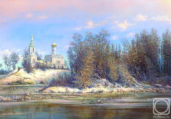 Панин Сергей. Храм у реки