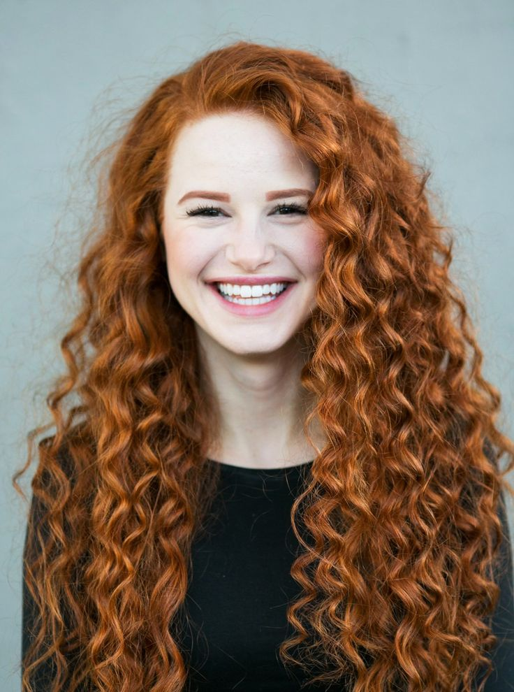 Madelaine Petsch Curly Red Hair New Book 09 Las