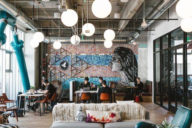13 Impressive Corners of the WeWork Office in Santa Monica - Blogrope