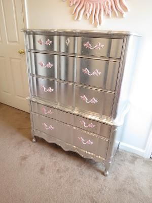 DIY mirrored furniture love this look did it too my dresser in my master bedroom. This is an amazing tutorial and gives me some insperation not to go buy new night stands! Beautiful job!!!!!! by jewel