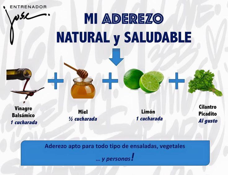 Aderezo ensaladas por Entrenador José Fernández                              …