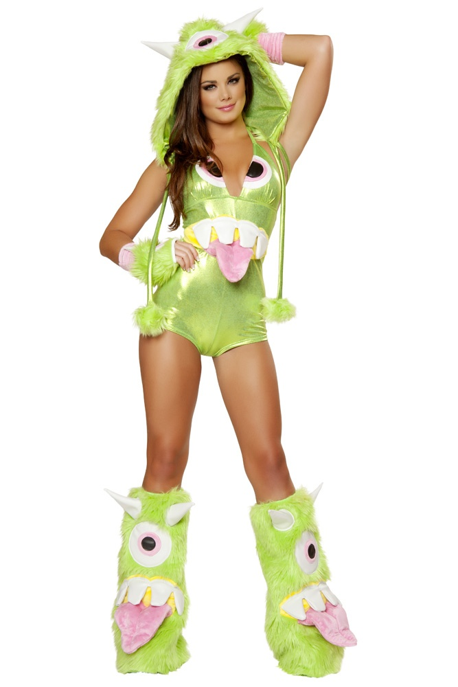 deluxe one eyed monster costume monster halloween costume monster girl costume green monster costume