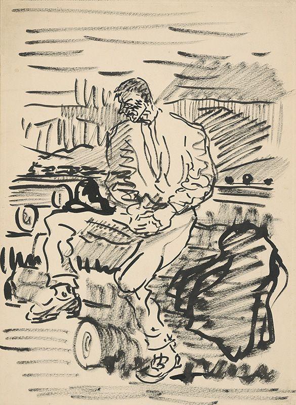 Arnold Peter Weisz-Kubínčan - Odpočinok na poli