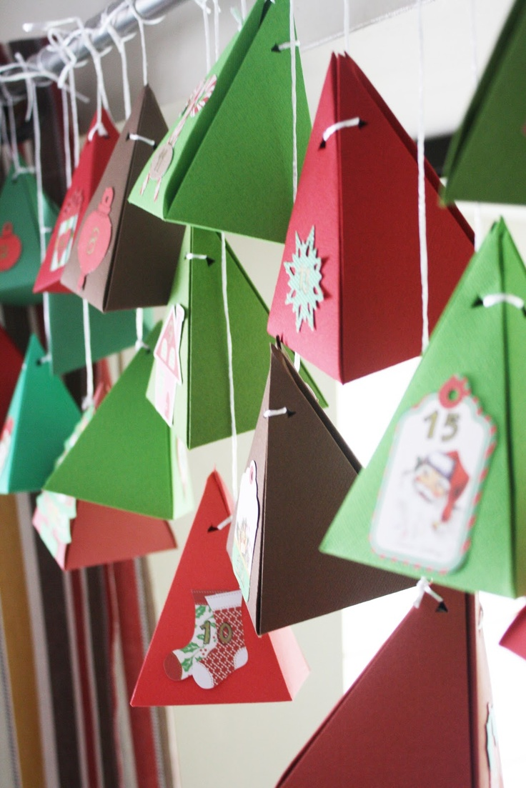 Amazing advent calendar filler ideas!  (and pretty awesome advent boxes too)
