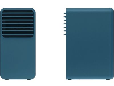 Mini Ceramic Fan Heater by Plus Minus Zero (±0)