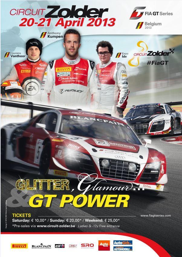 FIA GT1 Series Zolder 2013