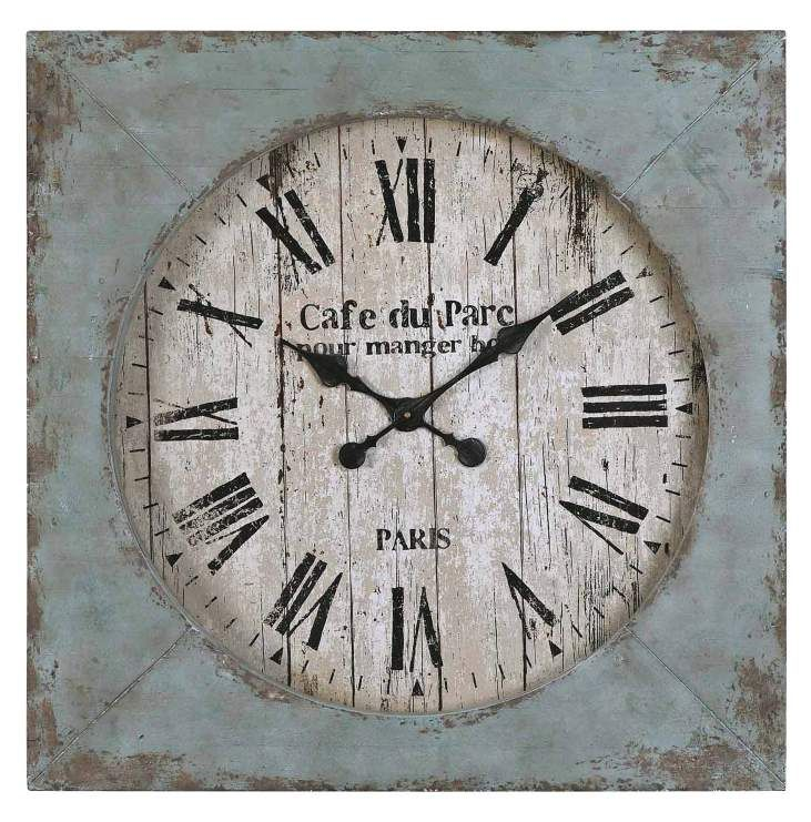 Uttermost Paron Square Wall Clock   06079   Transitional   Accessories And  Decor   Chachkies