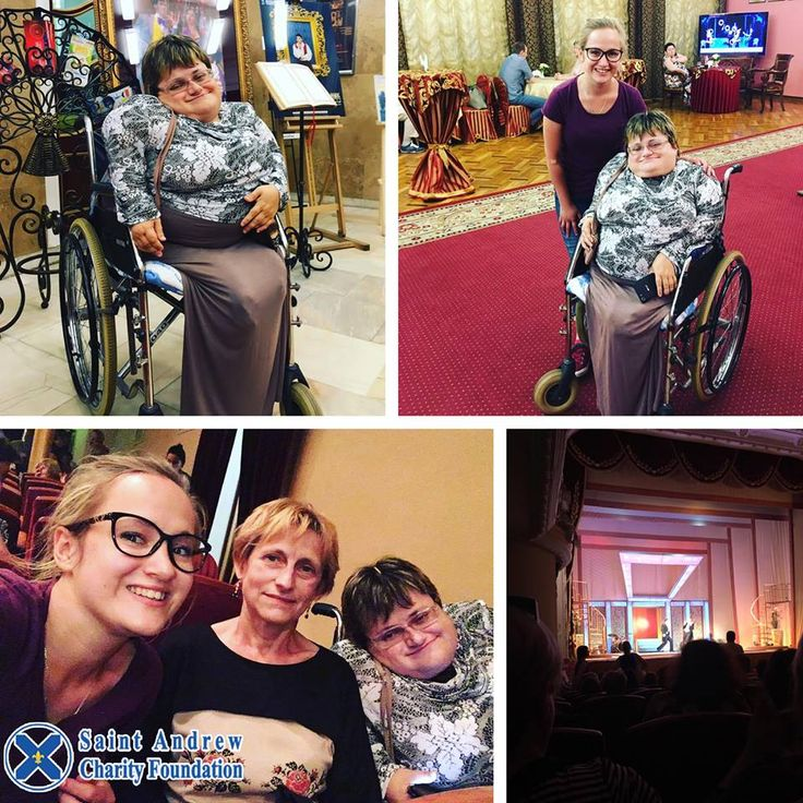 That was such an awesome day! Together with Svetlana Patra and her mother we visited a play «A Ball in Savoy» at Kiev Operette. We are so grateful to all indifferent people who helped us.  #charity #foundation #fund #StAndrew #ukraine #charityevent #charitymiles #charityride #charityday #disabled #disability #disabilities #wheelchair #wheelchairgirl #disabledwoman #disabilityawareness #disabledlife #theater #theaters #theaterlife #theaterarts