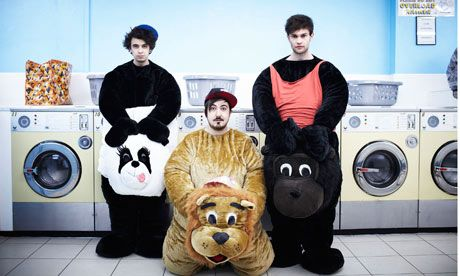 The Midnight Beast Invade America // England's funny trio head to the states to perform for CMJ Music Marathon